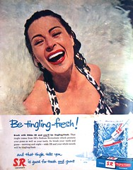 Gibbs SR toothpaste (Dunstabelle) Tags: toothpaste 1958 gibbs adverts womensday gibbssrtoothpaste