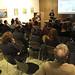 Xerrada-debat de la cooperativa d'arquitectes LaCol en el marc del Cicle de Jornades Formatives sobre les adoberies (2). Crèdit: ACVic.