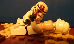 Death of a Comrade (ripjaw16) Tags: death starwars lego stormtroopers empire comrade episodeseven
