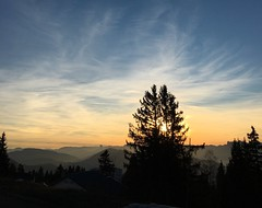 French Alps Sunset (jinahadam) Tags: france chamrousse