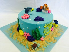 Finding Nemo Birthday Cake (tasteoflovebakery) Tags: birthday cake finding nemo