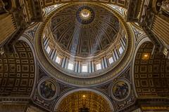 Rome - ST Peter's Dome (florenzi.daniele) Tags: stpeters rome roma san basilica cupola dome pietro