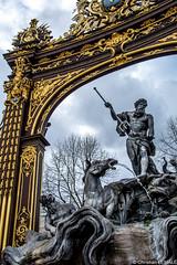 La fontaine de Neptune / The Neptune fountain - Place Stanislas - Nancy - France (christian_lemale) Tags: france nikon nancy lorraine stanislas plac d7100