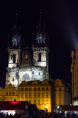 Prague, Old Town Hall Square (alh1) Tags: city tourism spring prague praha handheld czechrepublic oldtown oldtownsquare star msto churchofourladybeforetn starmstoprask