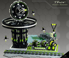 "Projekt ""Blacktron II Special Forces"" Part 4 ""Thor"" (stephann001) Tags: black classic lego space base blacktron"