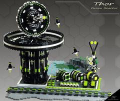 "Projekt ""Blacktron II Special Forces"" Part 4 ""Thor"" (stephann001) Tags: black classic lego space base blacktron"