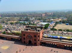 Red Fort (cn174) Tags: india delhi mosque masjid newdelhi shah jahan jama jamamasjid shahjahan mughal masjidijahnnum