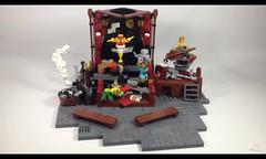 The Clockwork Show (Video) (burningblocks) Tags: robot dance lego stage entertainment technic empire ottoman middle eastern gears mech steampunk moc