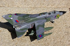 Revell Tornado GR1 ZD748-3 (jonf45 - 2.5 million views-Thank you) Tags: airplane model ak plastic batman 1998 kit tornado gr1 raf 172 squadron no9 bruggen panavia revell zd748