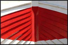 Face  face -  Face to face (diaph76) Tags: wood red france lines rouge boat graphic bow normandie bateau etretat bois lignes coque graphisme seinemaritime trave