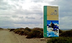 Inicio del Parque Natural Martimo Terrestre Cabo de Gata - Njar (Vivir en Costacabana) Tags: playa paseo sendero ermita martimo retamar torren torregarca