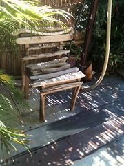 Driftwood chair (irecyclart) Tags: chair driftwood gardenideas