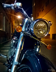 The Queen... (Franco DAlbao) Tags: night noche reina shine queen motorbike moto vehicle motocicleta brillo vehculo dalbao francodalbao microsoftlumia
