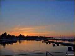 Sonnenaufgang ... (der bischheimer) Tags: wasser s hafen sonnenaufgang senftenberg bischheimer