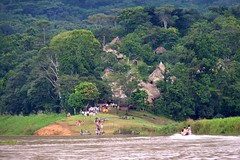 Embera Indian Village, Jungles of Panama (Joseph Hollick) Tags: jungle panama embera emberaindians
