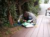 Jardinage (Dahrth) Tags: baby garden lumix raw gardening jardin littleboy bébé gf1 petitgarçon micro43 panasoniclumixgf1 20mmpancake gf120 microquatretiers