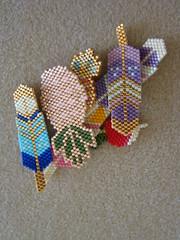 Miyuki delicas (Lea et le chat Malo) Tags: beads miyuki beading delicas