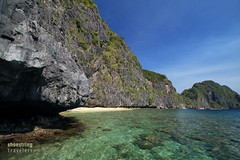 Matinloc Island (engrjpleo) Tags: travel sea seascape water rock landscape island coast seaside rocks outdoor philippines secretbeach shore hiddenbeach karst elnido palawan waterscape matinloc bacuitbay