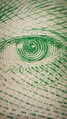 Macro: Her Majesty's Eye (KWPashuk (Thanks for >3M views)) Tags: money detail macro eye samsung canadian galaxy phonecamera note5 kwpashuk kevinpashuk