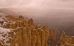 All Hale Bryce Canyon (Pete Foley) Tags: snow weather utah eerie brycecanyon sleet halestorm littlestories flickrsbest overtheexcellence petefoley picswithsoul nikond800 petefoleyphotography