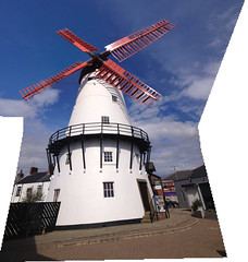 Marsh Mill II (GadgetHead) Tags: old windmill photoshop lancashire joiner 4s thornton iphone photoshopelements lancs 1794 marshmill thorntoncleveleys placesyouvisit iphone4s photoshopelements12