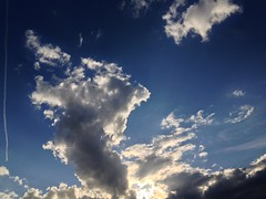 April 12, 2016 at 06:19PM (Mr T UK) Tags: blue light sky cloud sun white sunshine mobile clouds dark grey cloudy photos outdoor overcast clear ios project365 365days 365day iphoneography cloud365
