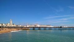 The Palace Pier (pp agrippa) Tags: england beach sussex brighton palacepier microsoftlumia640lte