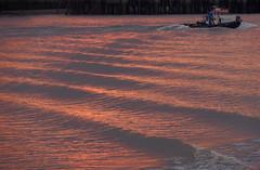 IMGP0544 (mattbuck4950) Tags: sunset england london water reflections boats march europe waves unitedkingdom dusk rivers riverthames gbr 2016 londonboroughoftowerhamlets londonboroughoflewisham lenssigma18250mm camerapentaxk50