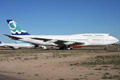 F-GSKY 18022009 (Tristar1011) Tags: corsair boeing gyr 747300 goodyearairport kgyr fgsky