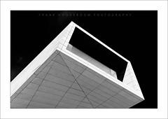 Elegance I (Frank Hoogeboom) Tags: sky building art portugal architecture modern dark photography design office contemporary fine porto visitorcenter matosinhos bouca