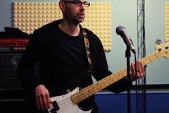 IMG_5225 (PsychopathPh) Tags: la sala musica toscana anima prato nell cantante musicisti prove chitarrista bassista batterista inaudito