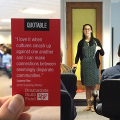It's been great week helping Tradewind Arts host the exciting thoughtful playwright @mslaurenyee who did table work with Tradewind actors on her new play plus workshops with Coterie young playwrights and other writers in Kansas City #nosmallcharacters . T (TheCoterieTheatre) Tags: new city its thanks work table for other actors play with theatre who great arts young thoughtful center been her host writers kansas week plus crown kc did exciting helping kcmo workshops playwright the audiences playwrights tradewind coterie instagram nosmallcharacters httpswwwinstagramcompbed1vl8jy2m httpsscontentcdninstagramcomt51288515sh008e351296522516908815011854841209805201njpgigcachekeymtizmzm3njq1mzi4mtayntqyma3d3d2 mslaurenyee dgfund