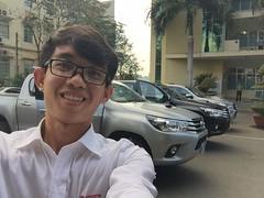 Khi Khch hng  tin tng chn dng xe bn ti TOYOTA HILUX th khng ch 01 xe u nh !!!!!!!!!! :oncoming_automobil (toyotabenthanhonline) Tags: ben toyota thanh xe trong gi khu nc tphcm nhp