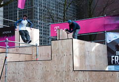 2016_April_freerun1-1755 (jonhaywooduk) Tags: urban sports netherlands amsterdam jump kick air spin platform teenagers free twist running runners athletes flick mid parkour