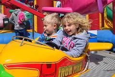 Outdoor Amusements (karenmarquick) Tags: kids children fun fairground may swanage amusements