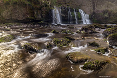 Fall of the Fuller (Leigh Cousins RAW) Tags: wales forest river waterfall nationalpark stream walk hike breconbeacons trail mystical magical epic enchanted rushingwater afonmellte fourfalls sgwdpannwr fourwaterfalls