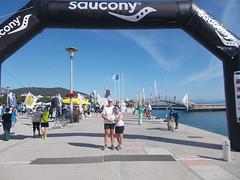 Mazi me tin Maria prin tin ekkinisi - 1 (illrunningGR) Tags: greece races halfmarathon volos marbie illrunning