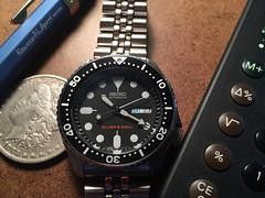 Seiko SKX007K (doggo) Tags: automatic diver seiko 200m 7s26 skx007k