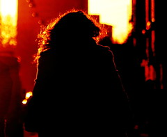 Exfiltrating Angel (mikkelfrimerrasmussen) Tags: sunset angel amagerboulevard