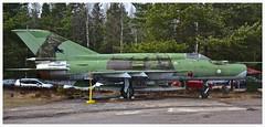 Mikoyan-Gurevich MiG-21bis MG-111.. (Ciaranchef's photography.) Tags: coldwar militaryaviation warmuseum russianaircraft sovietaircraft mikoyan mig21 militaryjets aviationmuseum finnishaviationmuseum d7000nikon nikonaviation preservedaeroplanes