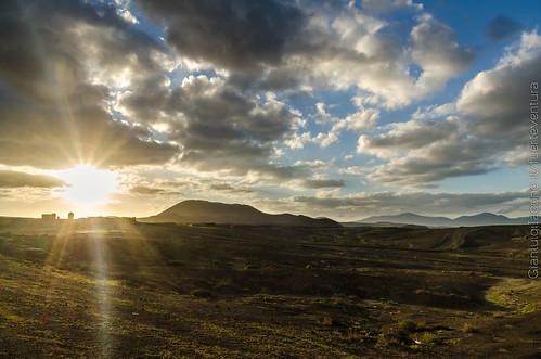 Canarian sunset - Fuerteventura, islas Canarias