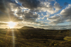 Canarian sunset - Fuerteventura, islas Canarias (Captured.Light) Tags: sunset wild backlight clouds landscape freedom nikon tramonto fuerteventura paisaje canarias nubes nube paesaggio wildscape d7000 gianluigiiacono