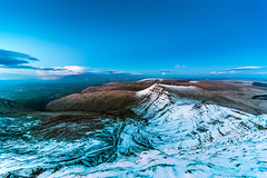 Snowy Brecon Beacons (karlmccarthy1969) Tags: uk sky snow beautiful wales clouds nikon breconbeacons