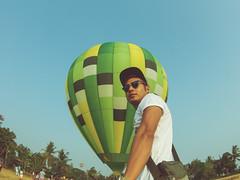 Lubao Hot air Balloon Pradera Verde (4 of 4) (Rodel Flordeliz) Tags: travel sky hot air balloon billboard adventure oxygen riding hotairballoons pradera pampanga bataan lubao lubaohotair
