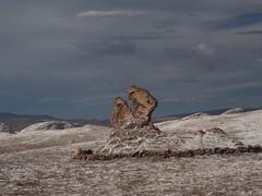 "Valley of the Moon in the Atacama Desert, Chile (Say ""Wasabi"") Tags: chile southamerica desert rockformations valleyofthemoon atacamadesert"