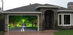 Artworks, amazing photos of a Painted garage door (PhotographyPLUS) Tags: pictures graphics photos illustrations images stockphotos articles footage stockimage freephoto stockphotograph
