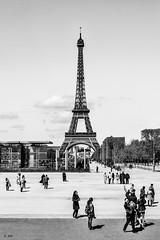Tour Eiffel (Stphane Slo) Tags: city urban paris france tower architecture clouds tour pentax eiffeltower monuments nuages hdr ville urbanlandscape pentaxk3ii