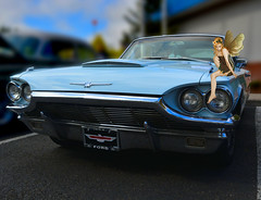 The Thunderbird (swong95765) Tags: classic ford car vintage automobile vehicle thunderbird tbird