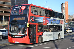 National Express West Midlands 4931 BK63YWT (Will Swain) Tags: uk travel england west bus buses birmingham december britain transport national express 23rd midland midlands nx 2015 4931 nxwm bk63ywt