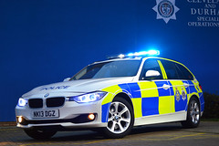 The Mighty M15P (S11 AUN) Tags: car durham traffic police bmw vehicle roads emergency touring unit 999 3series rpu constabulary policing 330d xdrive anpr policeinterceptors nk13dgz